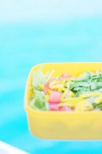 宮古島Fish a go go!さちこ食堂のお弁当(撮影:むらいさち)