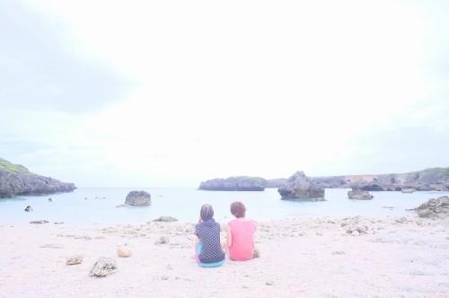 伊良部島のビーチ(撮影:むらいさち)