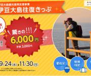 次の記事: 伊豆大島の往復船代が62%OFFの6,000円!期間限定で9