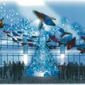 お台場のクリスマスイルミネーション、「『AQUA Xmas 2014』(提供:アクアシティお台場)