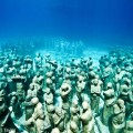 Jason DeCaires Taylorの水中彫刻(提供:ボニー・ウェイコット)