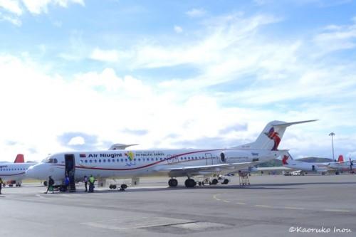 ニューギニア航空国内線の機体