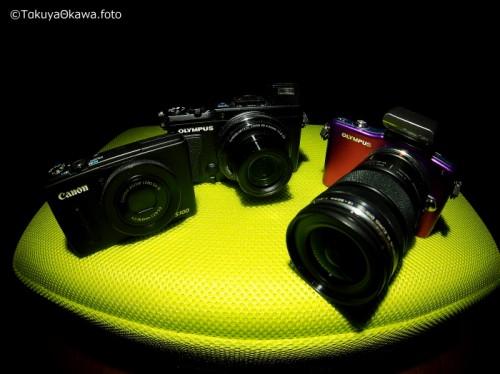 カメラ(提供:大川拓哉)
