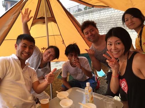 葉山BBQ(提供:武藤)