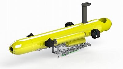 オニヒトデ自動駆除潜水ロボット