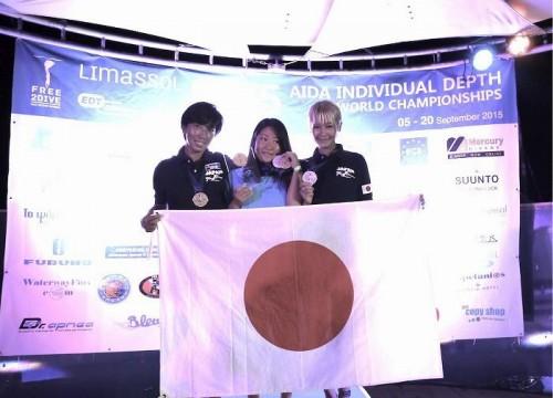 岡本・木下選手が金メダル! 日本女子が全種目メダル獲得のフリーダイビング世界大会レポート
