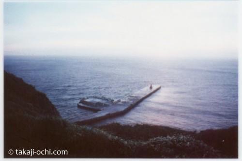 昔の御蔵島(撮影:越智隆治)