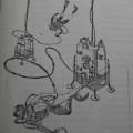 1963年の潜水の後, JAUS代表須賀次郎氏により発案された、ハイブリッド・ダイビング・システムのコンセプト図。いよいよ、201?に実現するか