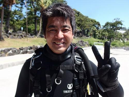 ガイドの松崎剛さん