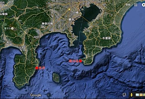 コククジラ地図