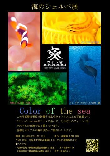 海のシェルパ展