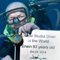 最高齢ダイビング