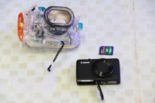 漂着したカメラ