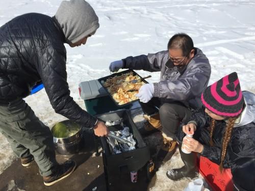 地元の鮭を使った贅沢で美味しい北海道名物「ちゃんちゃん焼き」
