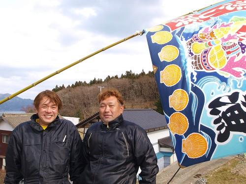 佐々木淳さん(左)と澤田保さん(右)
