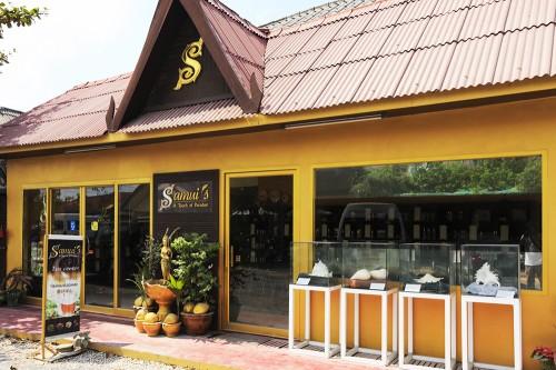 ビッグブッダの近くにあるココナッツオイルやアロマオイルを売っているお店「Samui's」
