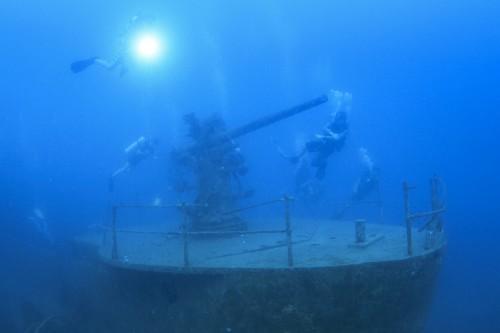 沈船ポイント「HTMS Satakut Wreck」
