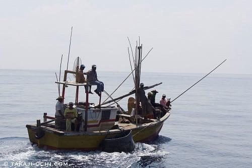奪われたのは、もっと大きな漁船だが、形はこんな感じ