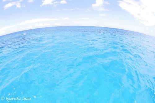 終わりの見えない青の世界