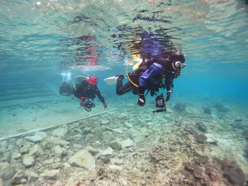 沖縄の海で潜った時のことを、エントリーから想い出深いシーンまでずっと残しておける