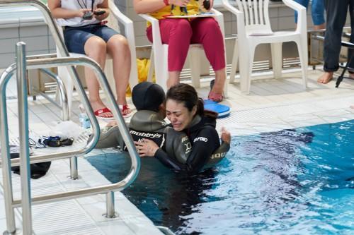 快挙!フィンランドのフリーダイビング世界大会にて日本人女子が2つのメダル、2つの日本記録樹立!