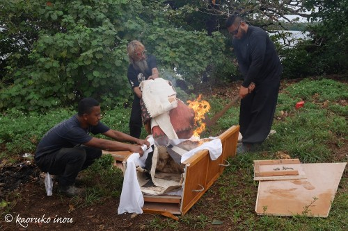トンガのお葬式