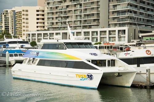 「ツサダイブ」が所有する日帰り豪華客船「T6」