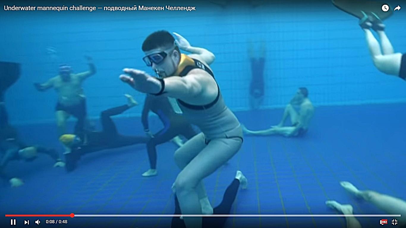 驚くべき完成度! フリーダイビングチームによる、水中マネキン・フラッシュモブ映像