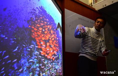 以前開催されたトークショーの様子です。中村卓哉さんの熱い話が続きました!