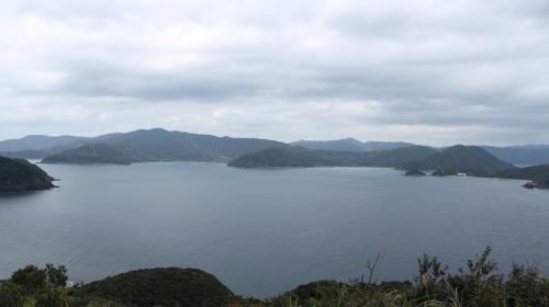 奄美大島本島が一望できる高台からの眺めは最高です