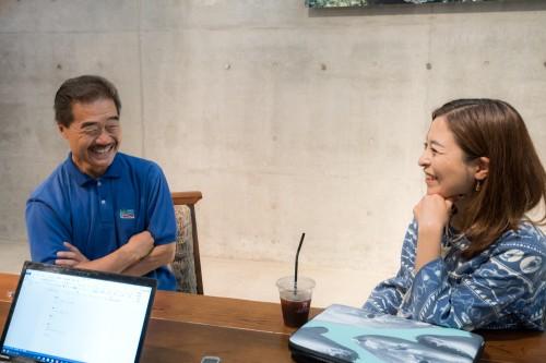 サメ対談 増子さん 沼口さん