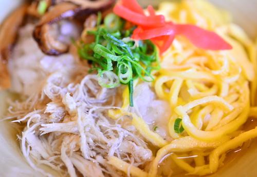 奄美大島の郷土料理・鶏飯(けいはん)