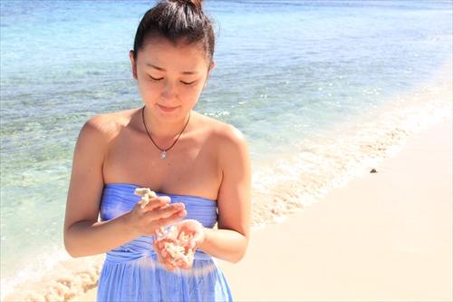 テテトビーチは穏やかで、透明度抜群のビーチでした!