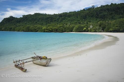 南太平洋一美しいビーチともいわれているシャンパンビーチ