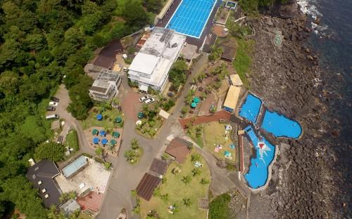 伊豆屈指の一大ダイビング施設「伊豆海洋公園」