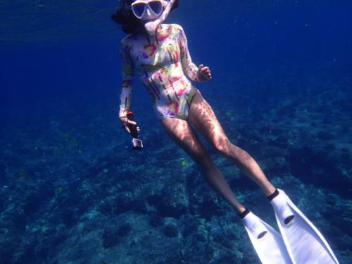 Photo by: Ryoko Shewcraft   BODY SUIT:Pikai Swim Hawaii