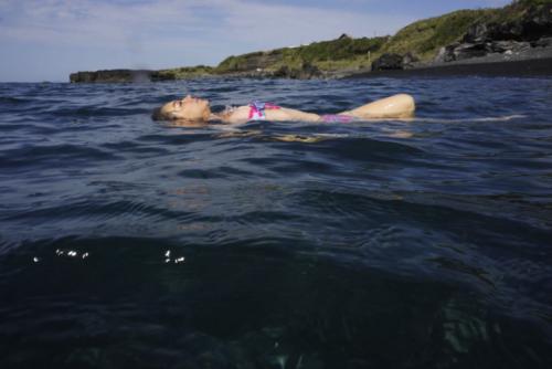 いつでも優しく包んでくれる海 Photo By : Mayumi Nakajima