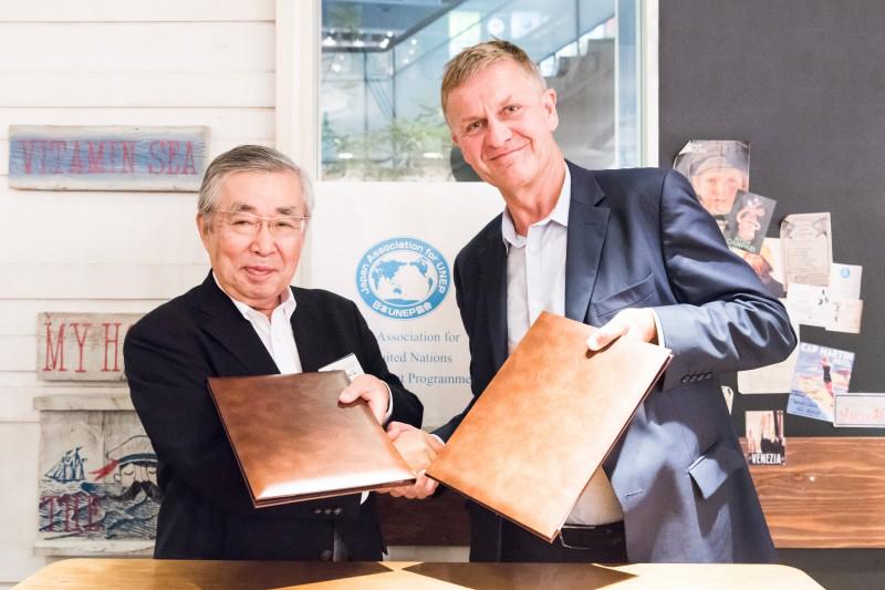 UNEP本部の事務局長・エリック・ソルハイム氏が来日 ~2030アジェンダの時代に汚染ゼロの惑星を目指して~