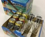 """次の記事: 2箱分の料金で3箱買える! ダイバーに人気の""""マンタビール"""""""