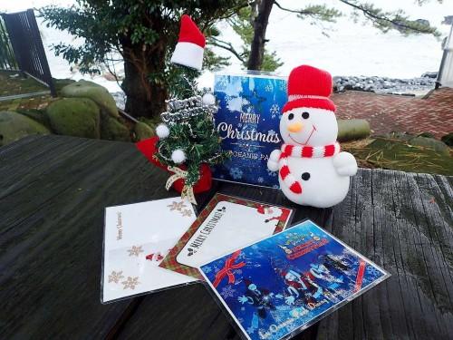 クリスマス用ポストカード(提供:伊豆海洋公園)