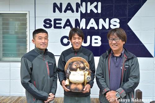串本の南紀シーマンズクラブ(撮影:中村卓哉)