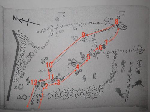 江之浦のマップ