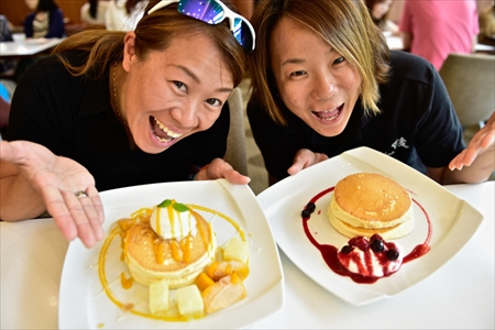 「大江ノ郷自然牧場」のふわふわのパンケーキに感動