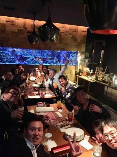 大阪セミナー後の講習会の様子。大盛り上がり、さすが大阪(笑)
