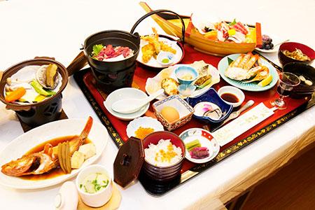 秋の三陸御膳(ホテル羅賀荘)