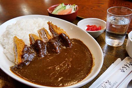 ジオフードのカツカレーライス(北川食堂)
