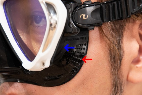 TUSAのマスク paragon