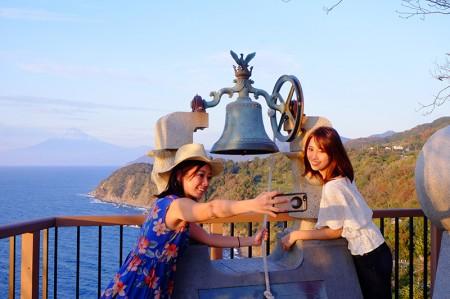 海・富士山・サンセットが同時に楽しめる、西伊豆ならではの絶景スポットにうっとり♡