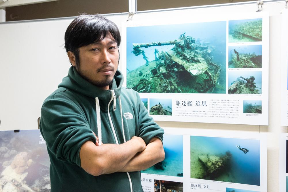 「レックをもっと身近なものに」水中写真家・戸村裕行氏にインタビュー 〜水中写真展「群青の追憶」〜