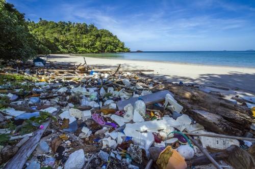 海洋プラスチックは大きな問題となっています。小さなゴミ1つたりとも海には捨てられません。